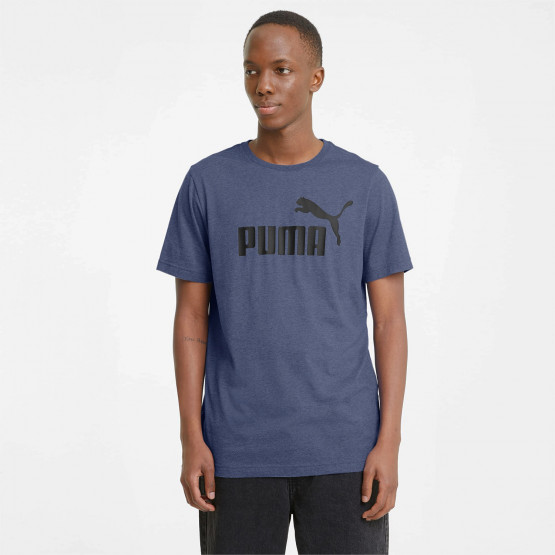 Puma Essentials Heather Ανδρικό T-Shirt