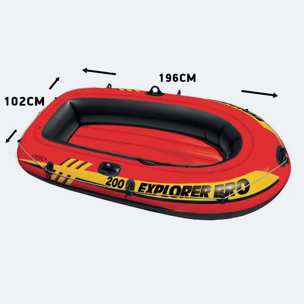 INTEX Explorer Pro 200  Φουσκωτή Βάρκα 196 Χ 102 Χ 33 Cm