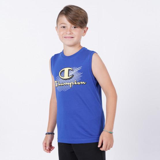Champion Sleeveless Crewneck Παιδική Μπλούζα