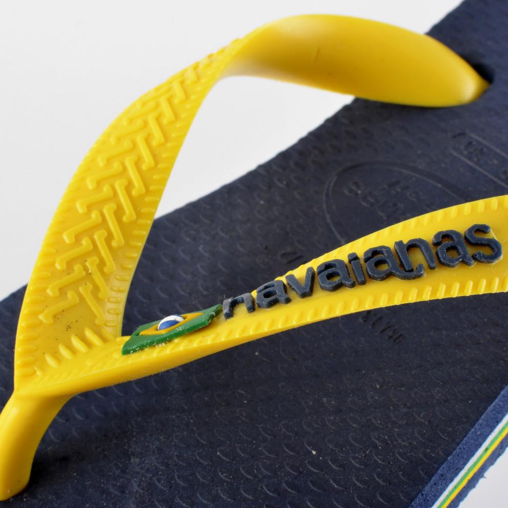 Havainas Brasil Logo Kid's Flip Flops