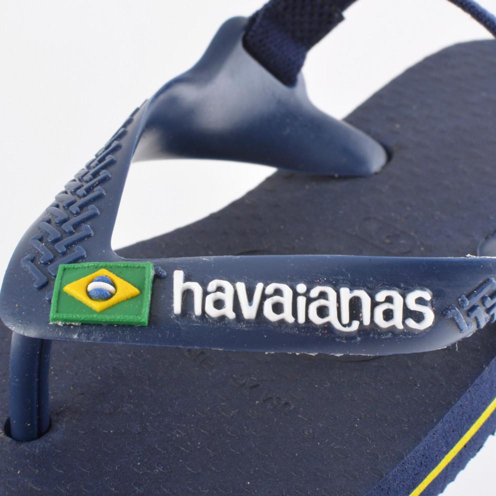 Havaianas Brasil Logo Infant's Sandals