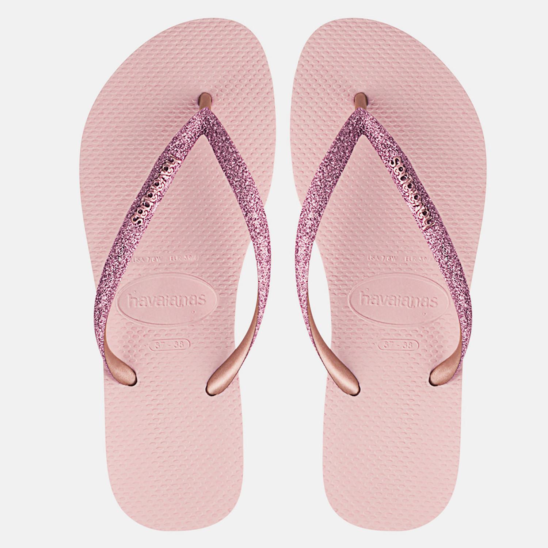 Havaianas Slim Glitter Γυναικείες Σαγιονάρες (9000053819_33123)