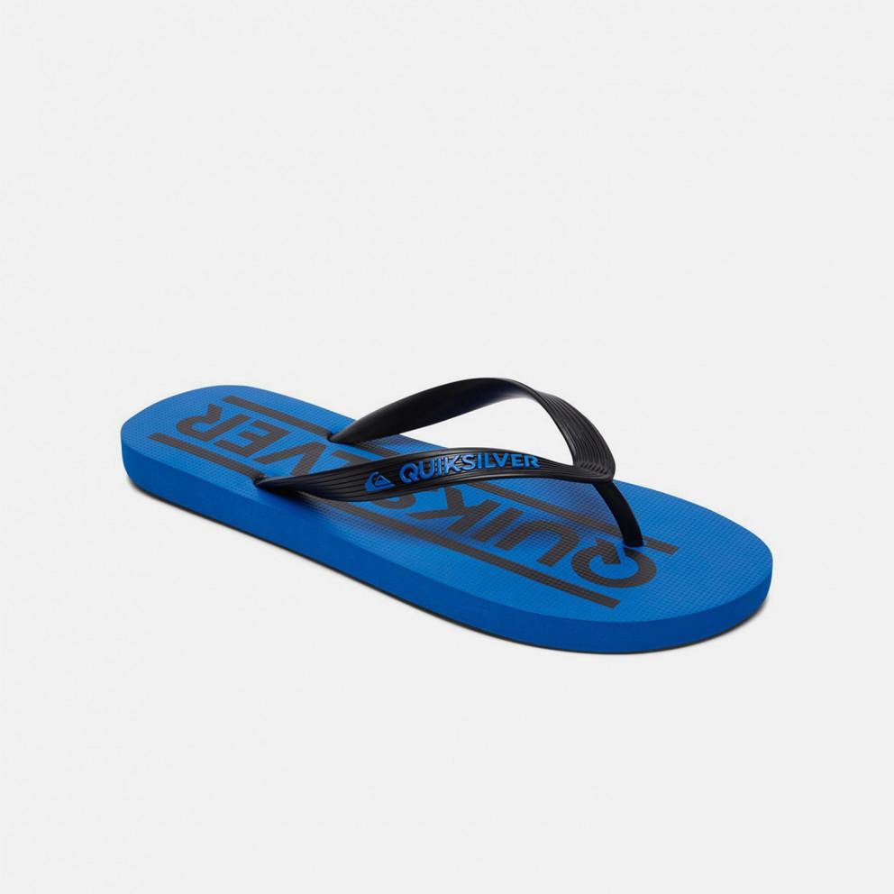 Quiksilver Java Wordmarkyt Kids' Flip Flops