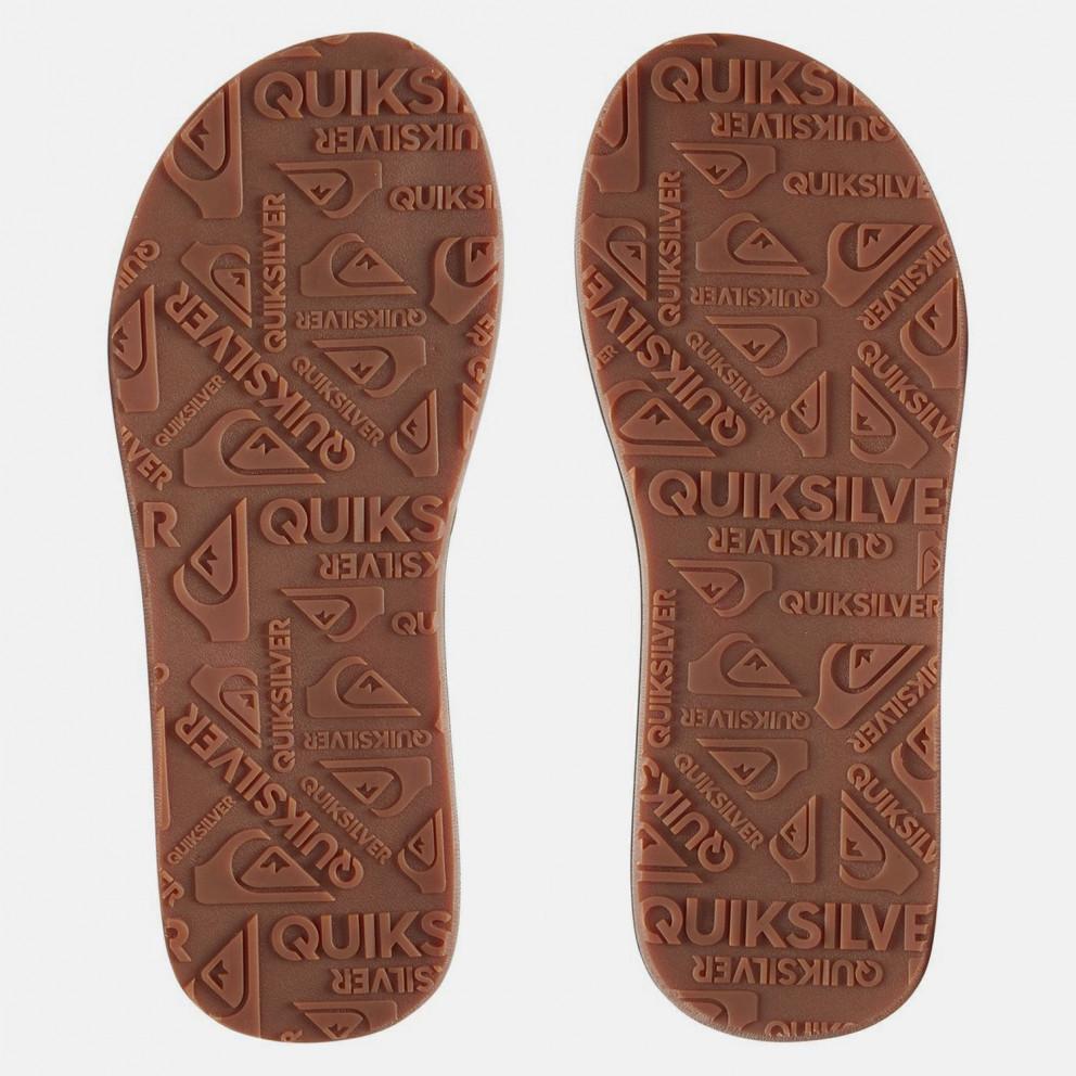 Quiksilver Carver Nubuck Men's Flip Flops