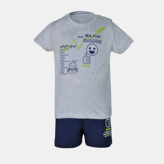 BodyTalk T-shirt & Short Βρεφικό Σετ