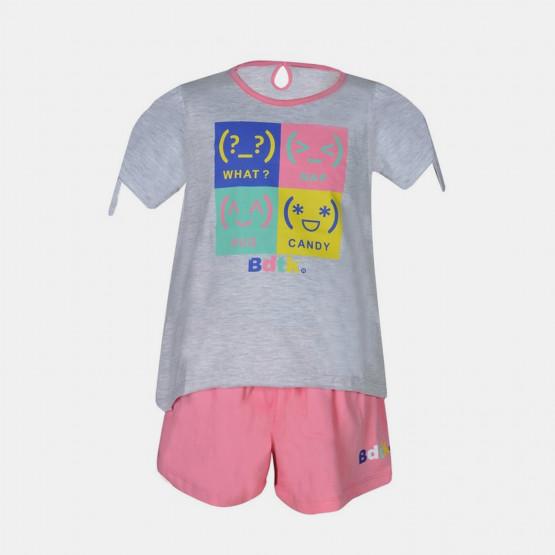 BodyTalk Tshirt & Short Βρεφικό Σετ