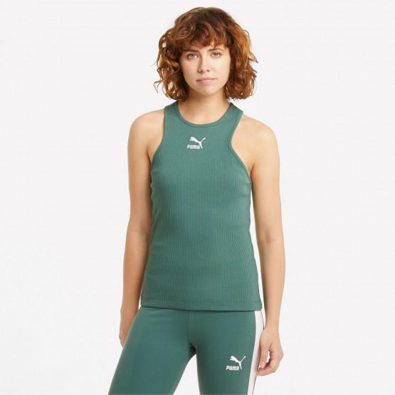 Puma Classics Rib Racerback Γυναικεία Αμάνικη  Μπλούζα
