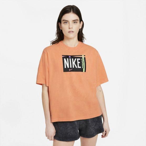 Nike Sportswear Wash Γυναικείο T-Shirt
