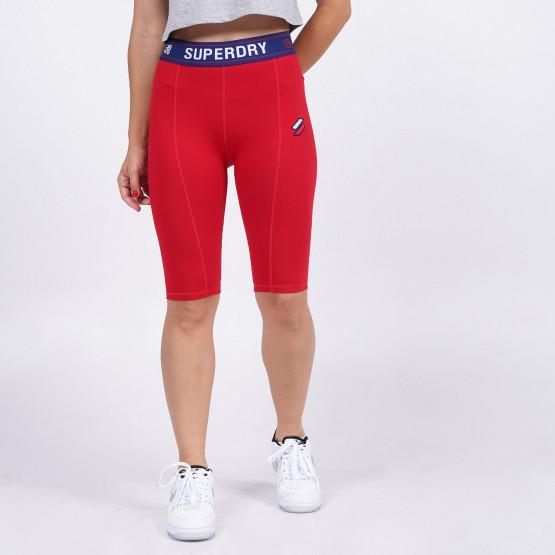 Superdry Sportstyle Essential Women's Biker Shorts