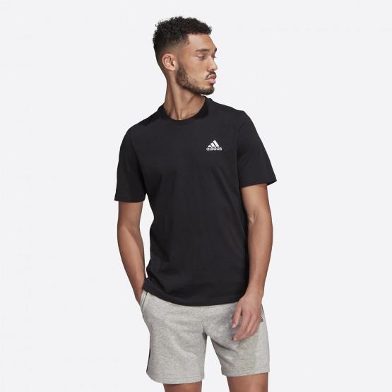 adidas Peformance Essentials Embroidered Small Logo Ανδρική Μπλούζα