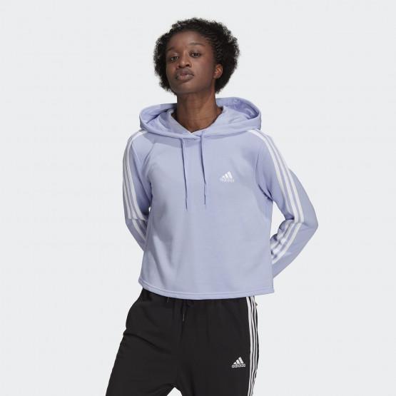 adidas Performance Essentials 3-Stripes Women's Cropped Hoodie