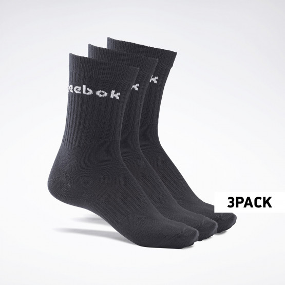 Reebok Sport Active Core Crew 3Pack Unisex Κάλτσες