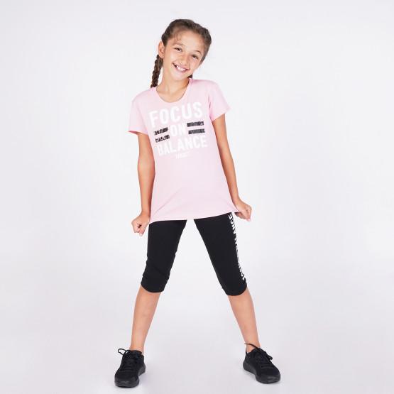 Target ''Focus'' Kid's Set Τ-Shirt & Leggings