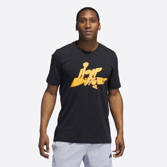 adidas Performance Hoop Different Ανδρικό T-shirt