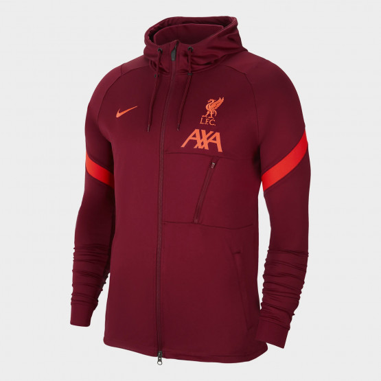 Nike Liverpool F.C. Strike Men's Knit Football Tracksuit Jacket