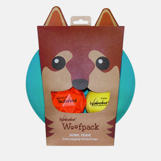Waboba Woofgames Dogs' Toys Pack