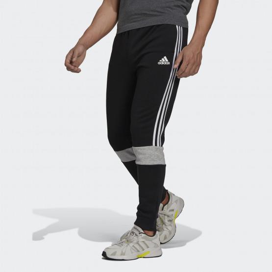 adidas Performance Essentials Fleece Colorblock Men's Trackpants