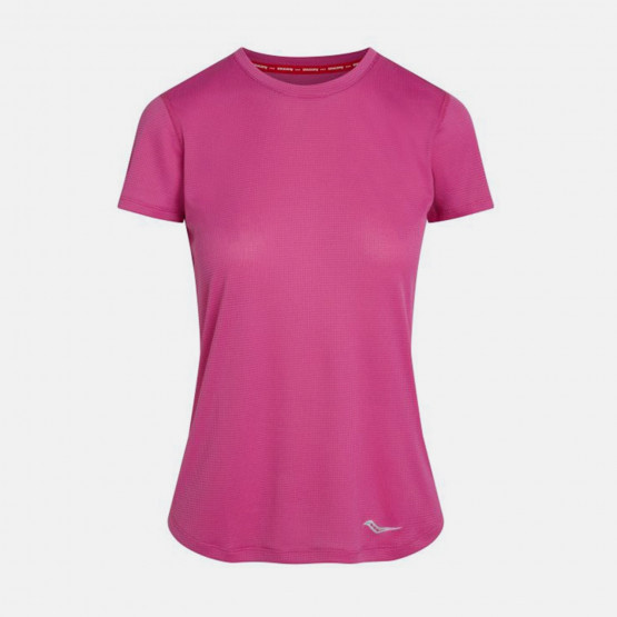 Saucony Stopwatch Γυναικείο T-Shirt