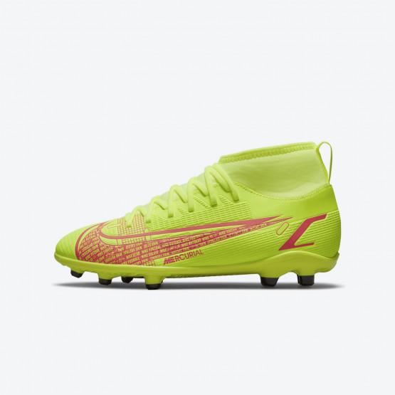Nike Mercurial Superfly 8 Club Fg/Mg Παιδικά Ποδοσφαιρικά Παπούτσια
