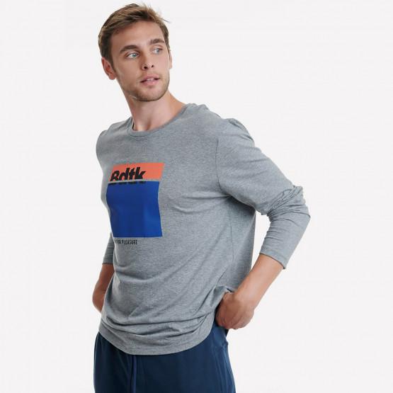 BodyTalk Men's T-Shirt With Long Sleeves