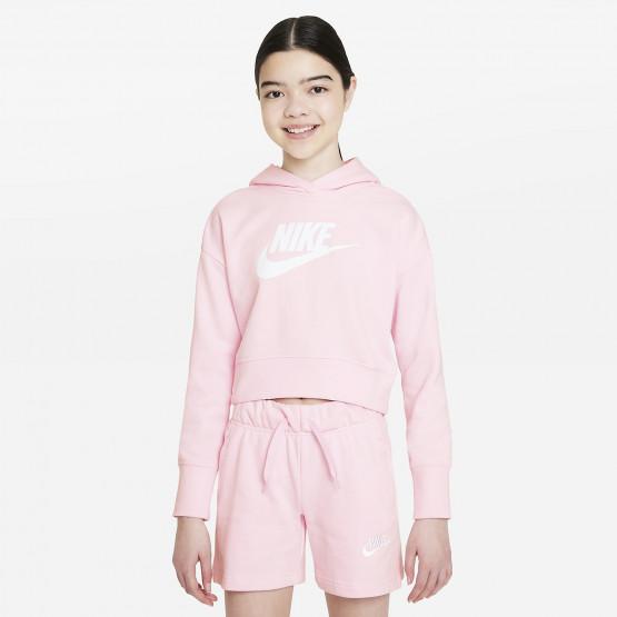 Nike Sportswear Cropped Παιδικό Φούτερ