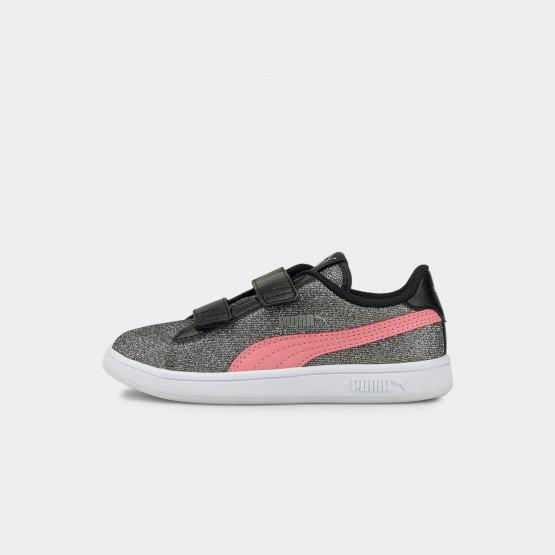 Puma Smash V2 Glitz Glam Kids' Shoes