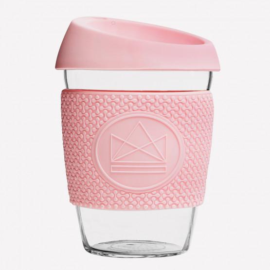 Neon Kactus Pink Flamingo |Γυάλινο Θερμός 340ml