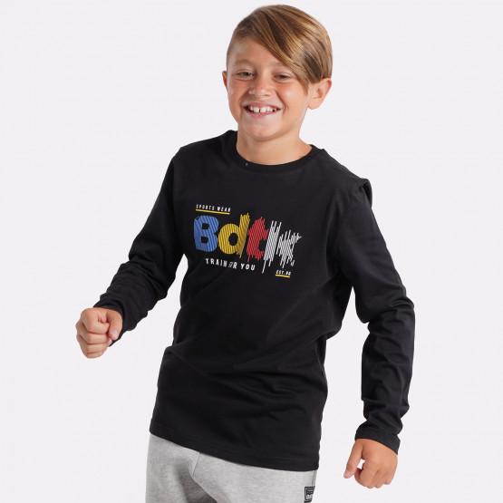 BodyTalk Παιδική Μπλούζα Με Μακρύ Μανίκι