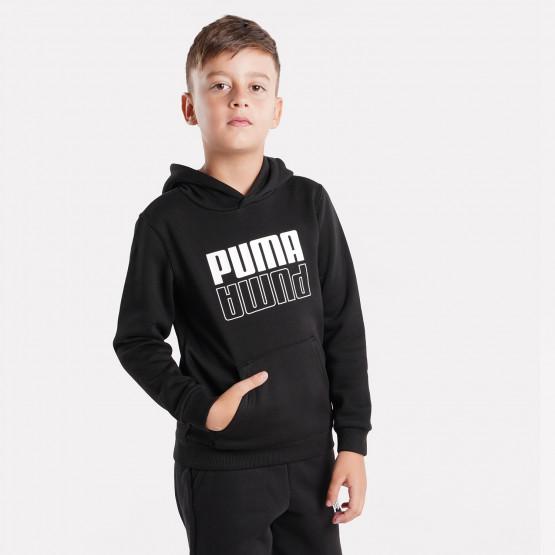 Puma POWER Logo Παιδικό Φούτερ