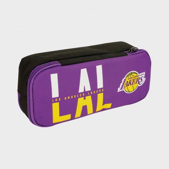 NBA  Los Angeles Lakers Barrel Pencil Case