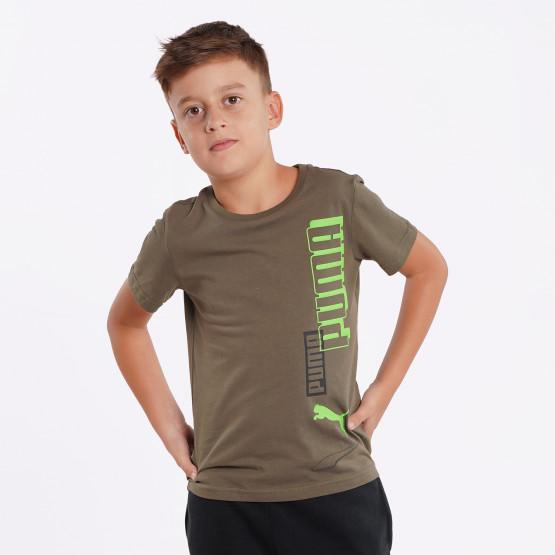 PUMA Alpha Παιδικό T-shirt