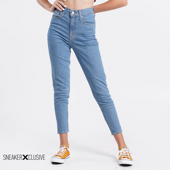 Levi's High Waisted Tapered Jeans Γυναικείο Τζιν Παντελόνι