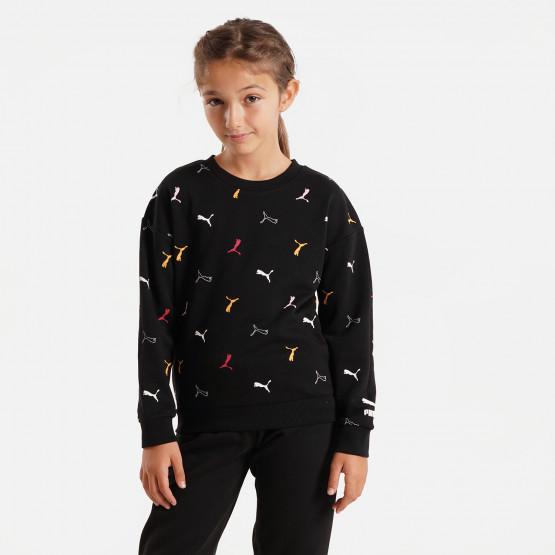 Puma Classics Graphics Kid's Sweatshirt