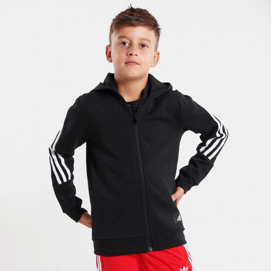 adidas Performance Future Icons 3 -Stripes Full-Zip Kid's Hoodie