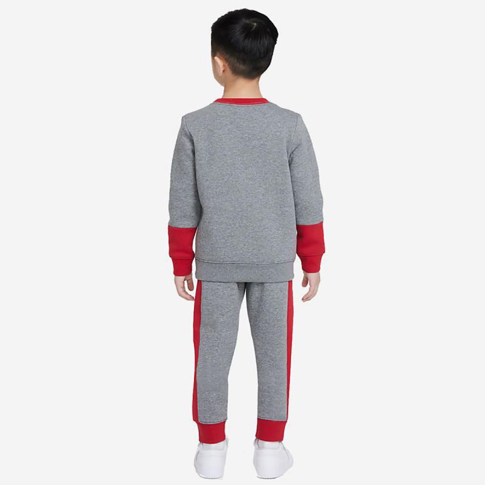 Jordan Jumpman By Nike Crew Παιδικό Σετ Φόρμας