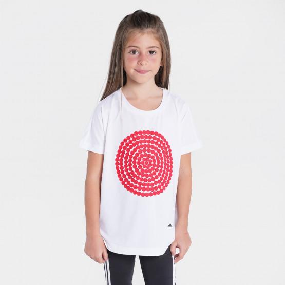 adidas Performance Marimekko Primegreen Aeroready Loose And Longer Graphic Παιδικό T-shirt