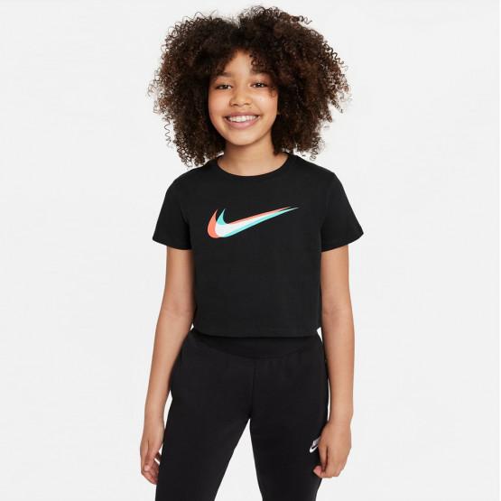 Nike Sportswear Cropped Παιδικό Cropped T-Shirt