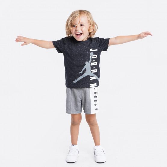 Jordan Jumping Big Air Tee & Short Παιδικό Σετ