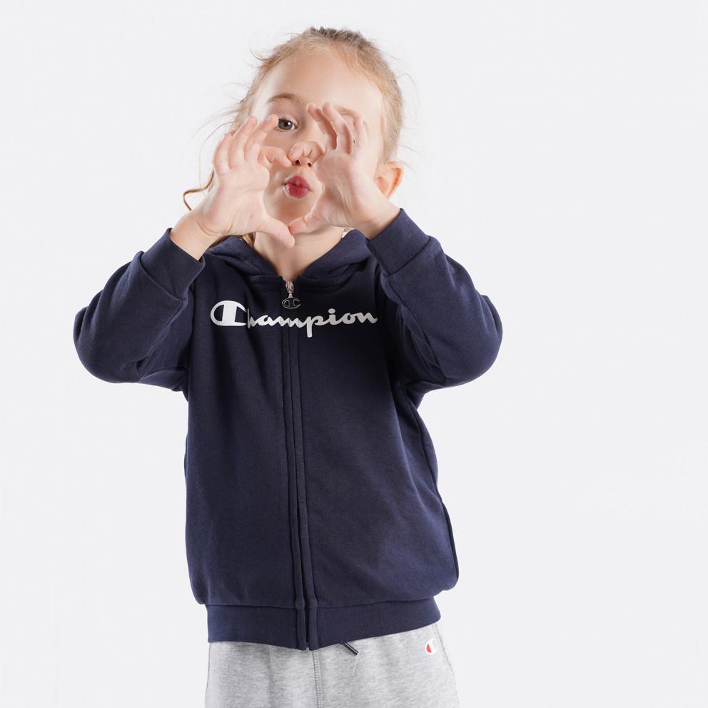 Champion Hooded Full Zip Παιδικό Σετ