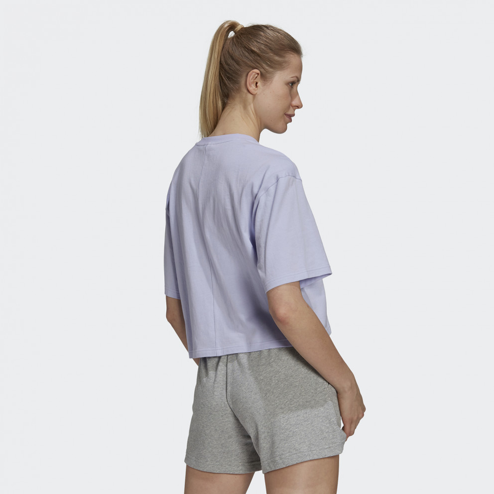 adidas Performance Cropped You For You Γυναικείο T-shirt