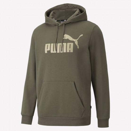 Puma Essentials Big Logo Ανδρική Μπλούζα με Κουκούλα