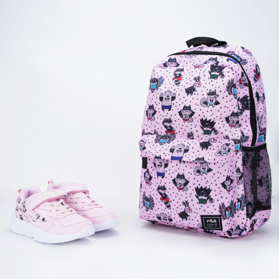 Fila Μemory Print 3 Kid's Shoes with a Free Backpack