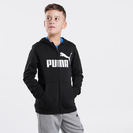 Puma Essentials+ Logo Full-Zip Παιδική Ζακέτα
