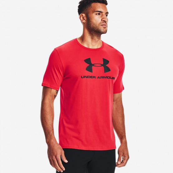 Under Armour Rival Fleece Sportstyle Logo Ανδρικό T-Shirt