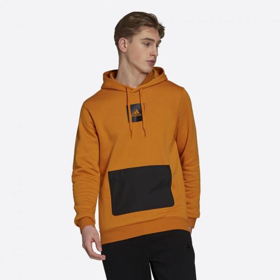 adidas Performance Essential Ανδρική Μπλούζα με Κουκούλα