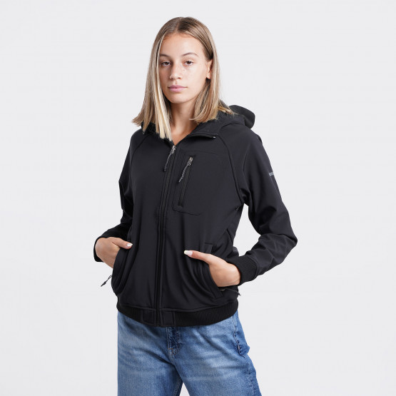 Emerson Bonded Bomber Women's Jacket with Hood