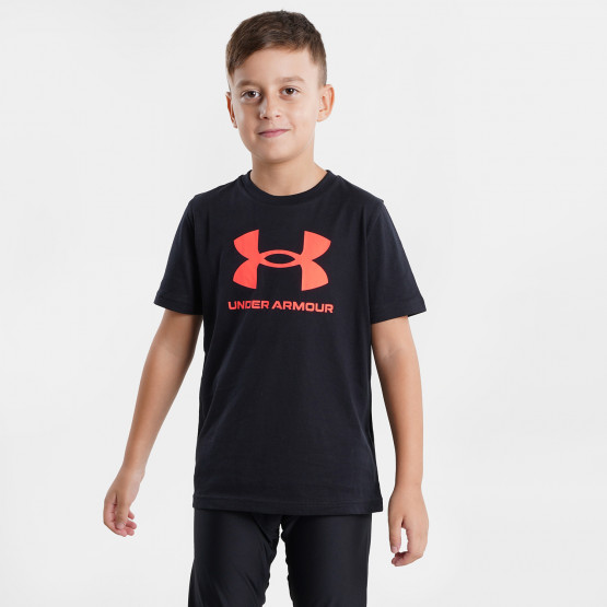 Under Armour Sportstyle Logo Παιδικό T-Shirt