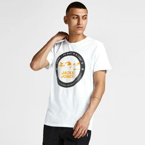 Jack & Jones Circular Logo Ανδρικό T-shirt