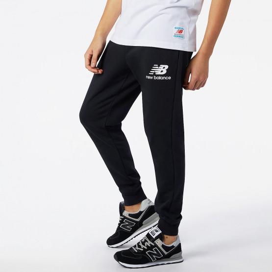 New Balance Essential Stack Logo Slim Ανδρικό Παντελόνι Φόρμας
