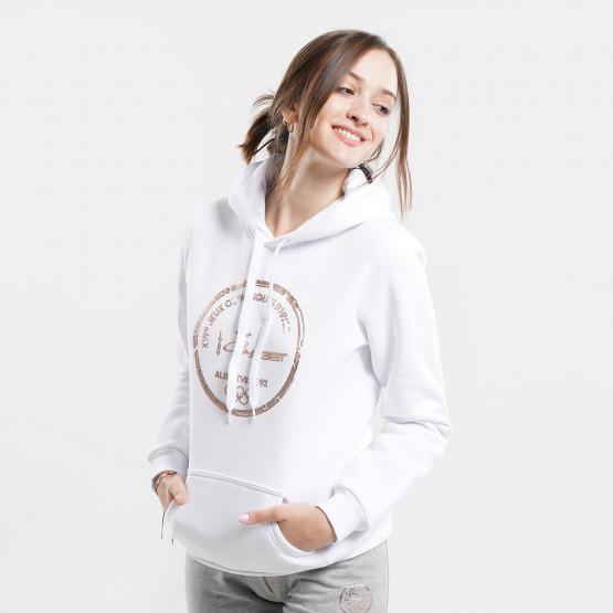 """Target """"Olympics"""" Γυναικεία Μπλούζα με Κουκούλα"""